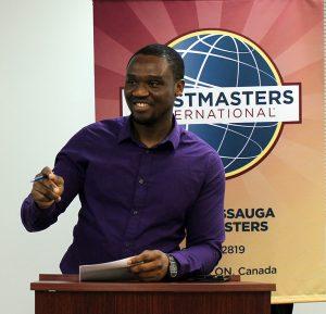 Toastmasters Speaker